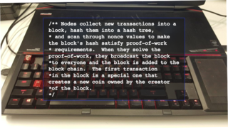 "<p> thewildcard<br> Apr 17, 2017 <p/> <h2>""nodes are miners — miners are nodes"" <br>Welcome to the Ministry of Truth in the Wiki Age.</h2>  The conversation started after I received a link to Satoshi's White paper, drawing my attention to the quote shown on the laptop image above. It got me thinking, why isn't this common knowledge? Why isn't it known that nodes are miners? I went to the bitcoin wiki to educate myself, and found the information there confusing.  Source: <a href=""https://medium.com/@MADinMelbourne/welcome-to-the-ministry-of-truth-in-the-wiki-age-601ec28a2504"" >https://medium.com/@MADinMelbourne/welcome-to-the-mini...</a>"