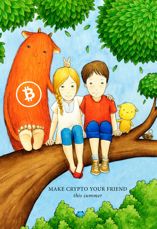 "<h3>Make Bitcoin Your Friend</h3> <p>Source:<br> <a href=""https://crypto.schule"" target=""_blank"">https://crypto.schule</a></p>"