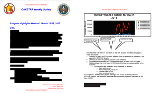 """... and wielded at least one mysterious source of information to ""help track down senders and receivers of Bitcoins,"" according to a top-secret passage in an internal NSA report dating to March 2013""""<br><br> Source:<br> <a href=""https://www.documentcloud.org/documents/4408020-Pages-From-OAKSTAR-Weekly-2013-03-29.html#document/p1"" target=""_blank"">https://theintercept.com/document/2018/03/20/pages-from-oakstar-weekly-2013-03-08/</a>"