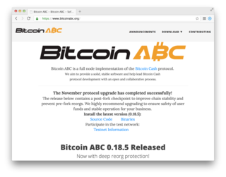 "<p><a href=""https://www.bitcoinabc.org"" target=""_blank"">→ bitcoinabc.org</a> [BCH]</p>"