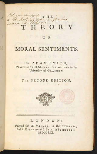 "<h2>The Theory of Moral Sentiments </h2> <p>Adam Smith, 1759</p> <p>Source:<br><a href=""https://en.wikipedia.org/wiki/The_Theory_of_Moral_Sentiments"" target=""_blank"">wikipedia.org</a>"