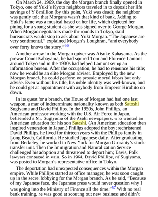 Excerpt from the <strong>The House of Morgan</strong> by Ron Chernow, published in 1990.