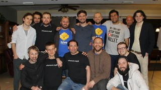 "<p>First Ethereum Meetup in Miami in January 2014 &mdash; I am the second from left in the back row.</p> <p>Source:<br /><a href=""https://medium.com/@yanislav/king-of-bitcoin-godfather-of-ethereum-a9af9ecf56d5"" target=""_blank"">medium.com/@yanislav</a></p>"