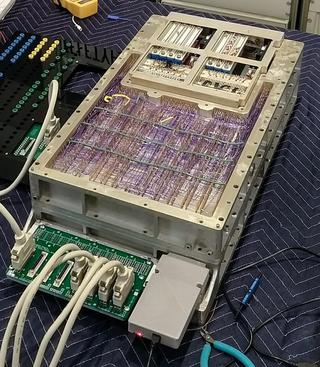 "<h2>Bitcoin mining on an Apollo Guidance Computer: 10.3 seconds per hash</h2> <p>We've been restoring an Apollo Guidance Computer1. Now that we have the world's only working AGC, I decided to write some code for it. Trying to mine Bitcoin on this 1960s computer seemed both pointless and anachronistic, so I had to give it a shot. Implementing the Bitcoin hash algorithm in assembly code on this 15-bit computer was challenging, but I got it to work. Unfortunately, the computer is so slow that it would take about a billion times the age of the universe to successfully mine a Bitcoin block.&nbsp;</p> <p><a href=""&quot;http://www.righto.com/2019/07/bitcoin-mining-on-apollo-guidance.html"" target=""_blank"">Read on</a></p> <p>Source: <a href=""http://www.righto.com/2019/07/bitcoin-mining-on-apollo-guidance.html"">Ken Shirriff's blog</a></p>"