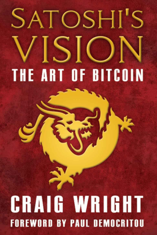 "<h2>Satoshi's Vision: <br>The Art of Bitcoin&nbsp;</h2> <p>by Craig S Wright&nbsp;<br /><br />Who is Satoshi Nakamoto?</p> <p>In 2008, the world of finance changed forever with the publication of a White Paper: Bitcoin: A Peer to Peer Electronic Cash System.</p> <p>Hard to believe, but bitcoin has been with us for a decade already. In that time, Satoshi Nakamoto, the pseudonymous author of the paper and creator of the bitcoin protocol, disappeared. In his absence, bitcoin underwent some drastic changes, resulting in hard forks in the code.</p> <p>Now, Craig Wright steps forward to explain why he chose to use a pseudonym, why he left, and why he returned. He outlines the issues facing bitcoin, and his plans for the future.</p> <p>Prepare for Satoshi's Vision: The Art of Bitcoin. Cryptocurrency will never be the same again.&nbsp;</p> <p>Source: <a href=""https://www.amazon.com/gp/product/B07X3LXND7/ref=as_li_tl?ie=UTF8&amp;tag=pauldem-20&amp;camp=1789&amp;creative=9325&amp;linkCode=as2&amp;creativeASIN=B07X3LXND7&amp;linkId=3c9a5c2308ac4562768ebd4dd3290d1c"" target=""_blank"">Amazon.com</a></p>"