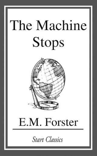 "<p>""<strong>The Machine Stops</strong>"" is a science fiction short story (12,300 words) by E. M. Forster. After initial publication in The Oxford and Cambridge Review (November 1909), the story was republished in Forster's The Eternal Moment and Other Stories in 1928.</p> <p>The story, set in a world where humanity lives underground and relies on a giant machine to provide its needs, predicted technologies similar to instant messaging and the Internet.</p> <p>Source: <a href=""https://en.wikipedia.org/wiki/The_Machine_Stops"" target=""_blank"">wikipedia.org</a><br />Book: <a href=""https://books.google.de/books/about/The_Machine_Stops.html?id=QUzVBgAAQBAJ&amp;printsec=frontcover&amp;source=kp_read_button&amp;redir_esc=y#v=onepage&amp;q&amp;f=false"" target=""_blank"">books.google.de</a></p>"