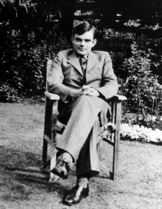 Alan Turing, around 1938